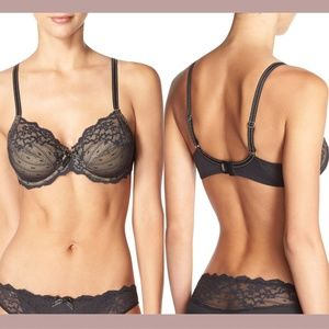 NEW Chantelle Rive Gauche Full Coverage Bra 36DDDD